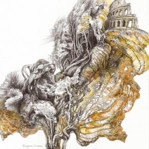 Выставка произведений Сергея Гусарина в Костроме