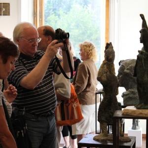 Выставка произведений Игоря Новикова. Скульптура