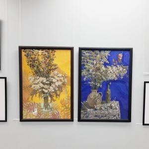 Выставка стажеров и выпускников Творческой мастерской РАХ  «Молодые художники Красноярска»