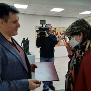 Члены РАХ - участники выставки «Первые 10 лет» в Тольятти