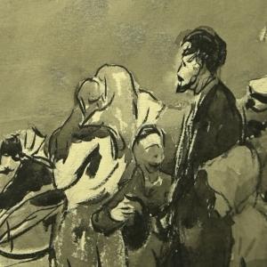Выставка «Анатолий Алексеев. Графика» в Иркутске
