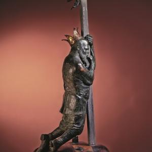 Тугаринов Д.Н. Жил-был царь... 1989. Бронза, дерево