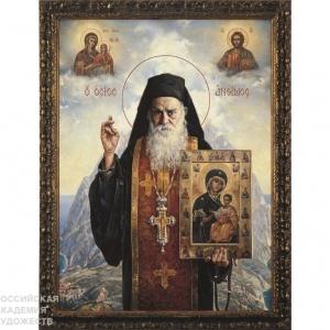 Выставка произведений Василия Нестеренко в Орле.
