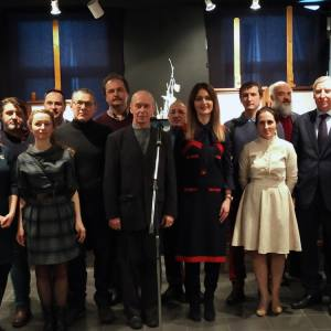 Члены РАХ-участники выставки «Живая нить традиций» в Москве