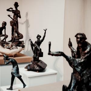«Чуть-чуть о многом». Выставка произведений Дмитрия Тугаринова в Зарайске