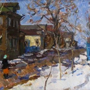 «Живописное наследие». Выставка произведений Ивана Сорокина. К 95-летию со дня рождения.