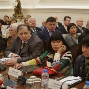 07.04.2015. На заседании Президиума Российской академии художеств