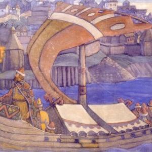 Н.К. Рерих.Садко. Холст, темпера. 1910