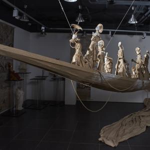 Выставочный проект «Корабль дураков» в Саратове.