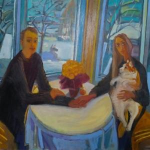 «Ангел мой, иди со мной…». Выставка произведений Елены Мухиной в Ярославле