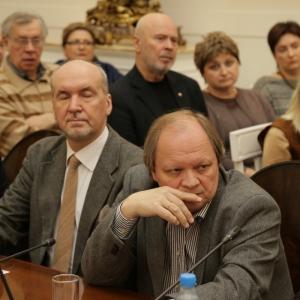 02.02.2016. На заседании Президиума Российской академии художеств