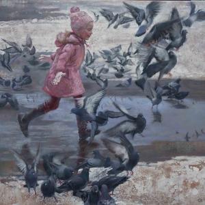 «Под светом солнца». Выставка произведений Любови Белых в Москве