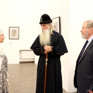 Визит главы РПЦС митрополита Корнилия в Российскую академию художеств