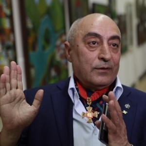 Открытие выставки произведений В.Окиташвили в ЦДХ