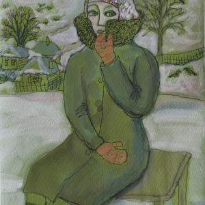 Выставка произведений Валентины Кузнецовой. Керамика, графика