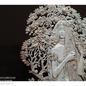 «Дети в искусстве». Выставка скульптуры и графики Олега Закоморного в Москве.