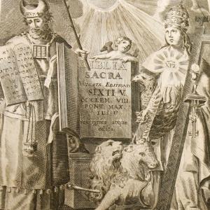 Biblia Sacra. 1783 г. Коневский монастырь