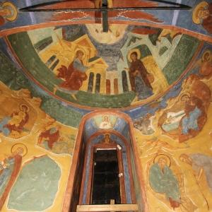 Алтарь Благовещенского придела. 1640 г. Любим Агеев со товарищи