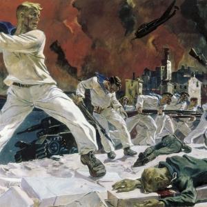 А.А.Дейнека (1899-1969). Оборона Севастополя. 1942