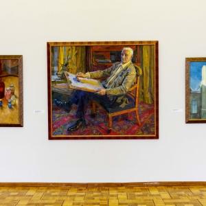 «Двое». Выставка произведений Валерия Чернорицкого и Анастасии Соколовой в Российской академии художеств
