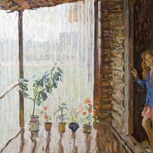 Ткачев С.П. Летний дождик. 2003