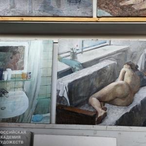 Полугодовой академический просмотр в МГАХИ им. В.И. Сурикова при Российской академии художеств