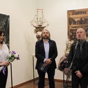 «Субскульптура». Выставка художественной куклы Александры Худяковой.