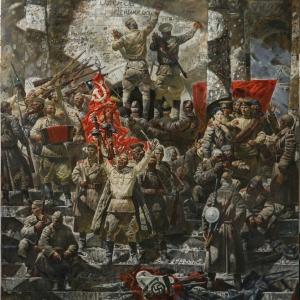 Александр Новосёлов. Победа. 2014. Холст, масло.