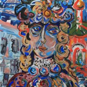 «VITA NOVA» Выставка живописи Анны Рындиной.