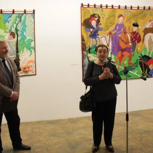 20 февраля – 17 марта 2019 года. Выставка произведений Нины Буденной в МВК РАХ. Декоративное искусство. Н.С.Буденная