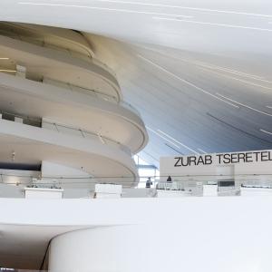«Возможные миры». Выставка произведений З.К.Церетели в Баку.