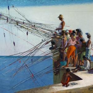 Академики РАХ – участники выставки «О, Гавана! Транзит…» в Музее современной истории России в Москве
