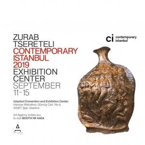 Президент Российской академии художеств  З.К. Церетели - участник «Contemporary Istanbul»