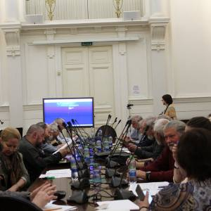 27.05.2016. Российская академия художеств. Научно-практическая конференция: «Проблемы печатной графики»