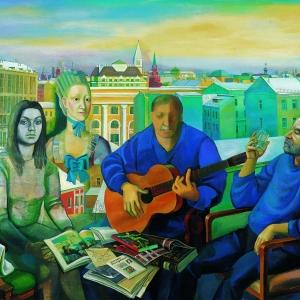 «Диалог со временем». Выставка произведений Татьяны Назаренко.