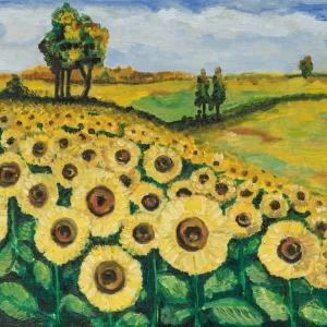 «Пространство радости». Выставка произведений Татьяны Кочемасовой.