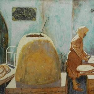 «Степные истории». Выставка произведений А. Шинибаева в Казани.