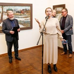 Выставка произведений Владимира Соковнина в Российской академии художеств