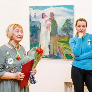 «Ангел мой, иди со мной…» Выставка произведений Елены Мухиной в МВК РАХ