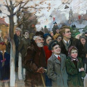 Щеглов Н. Москва. Трубная площадь карт.м. 1953г. 5к. п.23330