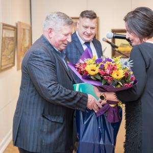 Выставка Николая Давыдова «Душа моя с тобой, Россия…» в Великом Новгороде