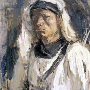 Андрей Бантиков. Красной Армии рядовой. 1944. Холст, масло.