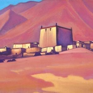 Н.Рерих. Чату-Гомпа. Тибет. 1940.
