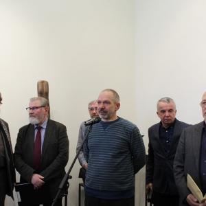 Выставка произведений Игоря Александровича Козлова в РАХ. 2019.