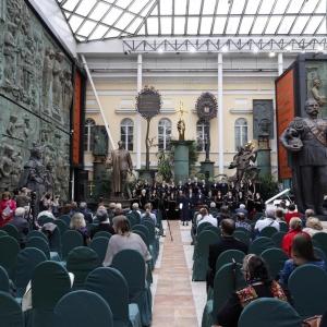 ХII Международный хоровой фестиваль духовной музыки «Хрустальная часовня» в рамках акции «Ночь музеев» в МВК РАХ