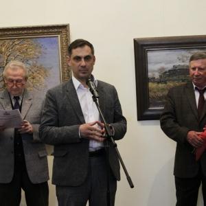 «В краю крестов и широты привольной…». Выставка произведений Николая Давыдова.