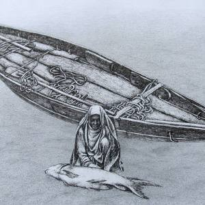 А.П.Рыбкин. Берег Индийского океана.Серия Дороги мои