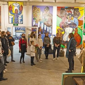 Творческая встреча победителей детского конкурса рисунка с Президентом РАХ З.К.Церетели