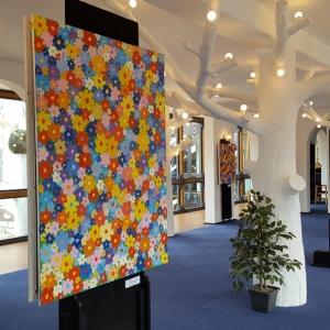 «Цветочная выставка» Алекса Долля в Гифхорне (Нижняя Саксония).