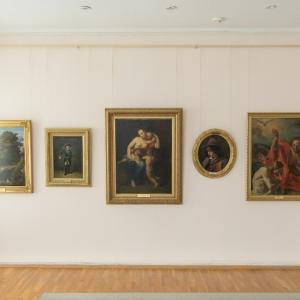 Экспозиция «Академическая школа искусства» в Саврополе.